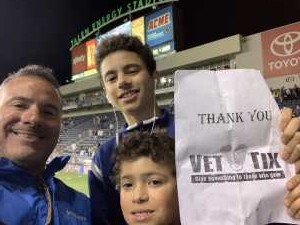 Harold A attended Philadelphia Union vs Seattle Sounders FC - MLS on May 18th 2019 via VetTix