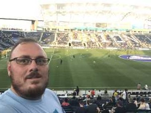 Rich attended Philadelphia Union vs Seattle Sounders FC - MLS on May 18th 2019 via VetTix
