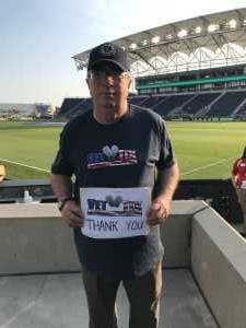 Robert attended Philadelphia Union vs Seattle Sounders FC - MLS on May 18th 2019 via VetTix