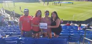 Guadalupe attended FC Dallas vs. Los Angeles FC - MLS on May 19th 2019 via VetTix