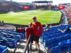 AMADEO attended FC Dallas vs. Los Angeles FC - MLS on May 19th 2019 via VetTix