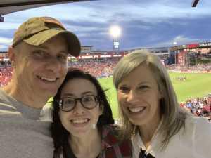 Tommy attended FC Dallas vs. Los Angeles FC - MLS on May 19th 2019 via VetTix