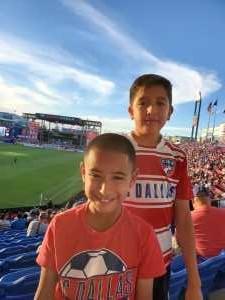Leticia attended FC Dallas vs. Los Angeles FC - MLS on May 19th 2019 via VetTix