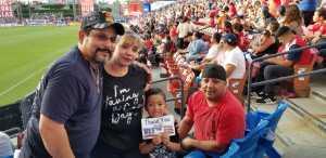 Juan attended FC Dallas vs. Los Angeles FC - MLS on May 19th 2019 via VetTix
