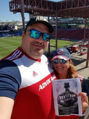 Carlos attended FC Dallas vs. Los Angeles FC - MLS on May 19th 2019 via VetTix