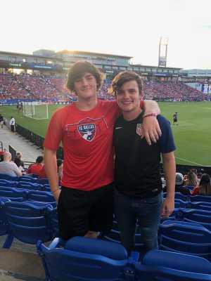 Chapa Family attended FC Dallas vs. Los Angeles FC - MLS on May 19th 2019 via VetTix