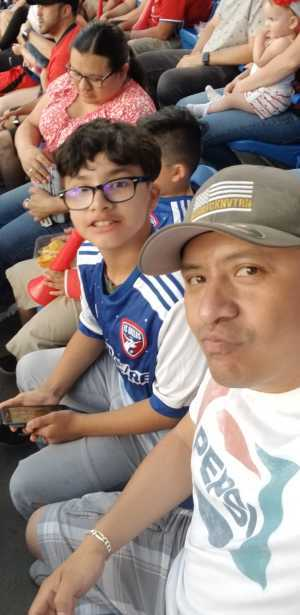 Benjamin attended FC Dallas vs. Los Angeles FC - MLS on May 19th 2019 via VetTix