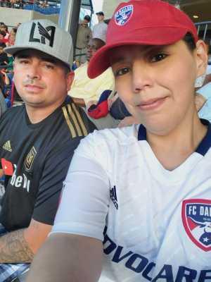 Javier attended FC Dallas vs. Los Angeles FC - MLS on May 19th 2019 via VetTix