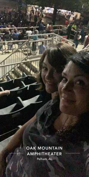 Frances attended Daryl Hall & John Oates - Pop on Sep 24th 2019 via VetTix