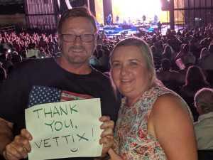 George attended Daryl Hall & John Oates - Pop on Sep 24th 2019 via VetTix
