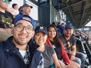Johnathan attended Colorado Rockies vs. Chicago Cubs - MLB on Jun 11th 2019 via VetTix