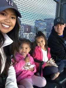 Alan attended Colorado Rockies vs. Chicago Cubs - MLB on Jun 11th 2019 via VetTix
