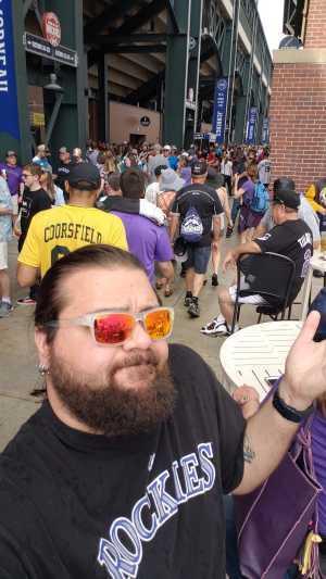 Daryl attended Colorado Rockies vs. Chicago Cubs - MLB on Jun 11th 2019 via VetTix