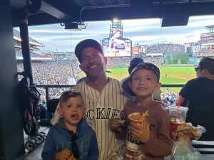 Robert attended Colorado Rockies vs. Chicago Cubs - MLB on Jun 11th 2019 via VetTix
