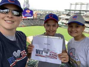 Click To Read More Feedback from Colorado Rockies vs. Chicago Cubs - MLB