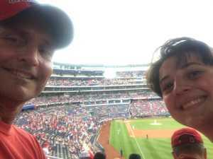 David attended Washington Nationals vs. Miami Marlins - MLB on May 26th 2019 via VetTix