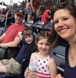 Thomas attended Washington Nationals vs. Miami Marlins - MLB on May 26th 2019 via VetTix