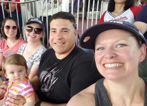 Jessica attended Washington Nationals vs. Miami Marlins - MLB on May 26th 2019 via VetTix