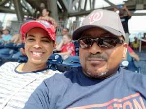 Monica attended Washington Nationals vs. Miami Marlins - MLB on May 26th 2019 via VetTix