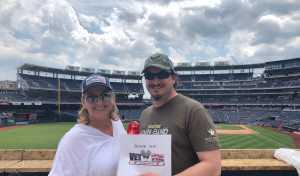 Autumn attended Washington Nationals vs. Miami Marlins - MLB on May 26th 2019 via VetTix