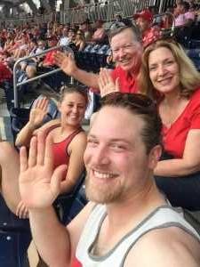Paul attended Washington Nationals vs. Miami Marlins - MLB on May 26th 2019 via VetTix