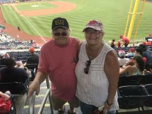 William attended Washington Nationals vs. Miami Marlins - MLB on May 26th 2019 via VetTix