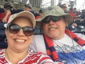 Stacy attended Washington Nationals vs. Miami Marlins - MLB on May 26th 2019 via VetTix
