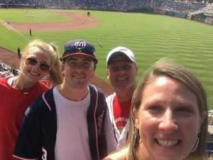 Winston attended Washington Nationals vs. Miami Marlins - MLB on May 26th 2019 via VetTix