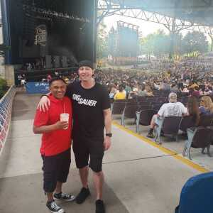 Patrick attended Wmzq Fest Starring Chris Young: Raised on Country Tour - Country on May 18th 2019 via VetTix