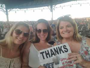 Dean attended Wmzq Fest Starring Chris Young: Raised on Country Tour - Country on May 18th 2019 via VetTix