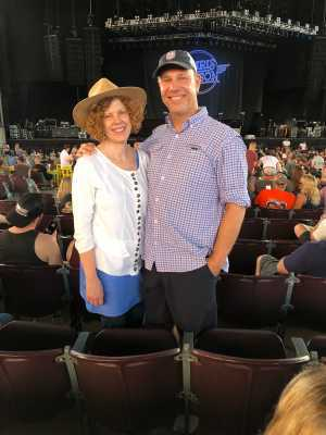 Moises attended Wmzq Fest Starring Chris Young: Raised on Country Tour - Country on May 18th 2019 via VetTix