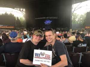 Tiffany attended Wmzq Fest Starring Chris Young: Raised on Country Tour - Country on May 18th 2019 via VetTix