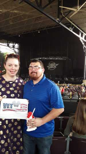 William attended Wmzq Fest Starring Chris Young: Raised on Country Tour - Country on May 18th 2019 via VetTix