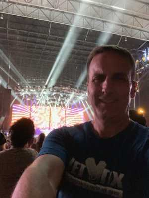 Rodney attended Wmzq Fest Starring Chris Young: Raised on Country Tour - Country on May 18th 2019 via VetTix