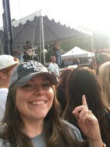 Catherine attended Wmzq Fest Starring Chris Young: Raised on Country Tour - Country on May 18th 2019 via VetTix