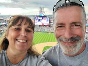 Justine attended Colorado Rockies vs. San Diego Padres - MLB on Jun 16th 2019 via VetTix