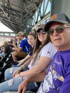 Michael attended Colorado Rockies vs. San Diego Padres - MLB on Jun 16th 2019 via VetTix