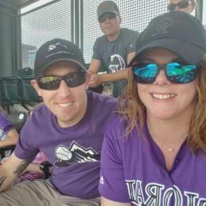 Jamie attended Colorado Rockies vs. San Diego Padres - MLB on Jun 16th 2019 via VetTix