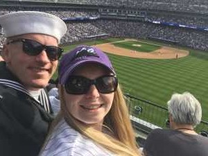 PO3 Selby attended Colorado Rockies vs. San Diego Padres - MLB on Jun 16th 2019 via VetTix