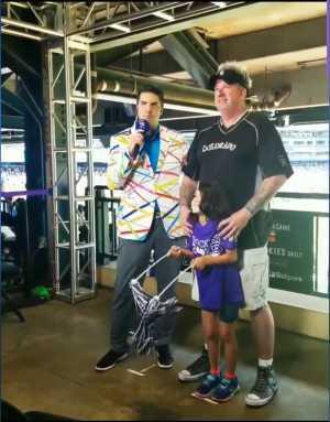 Thomas attended Colorado Rockies vs. San Diego Padres - MLB on Jun 16th 2019 via VetTix