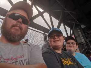 Cameron attended Colorado Rockies vs. San Diego Padres - MLB on Jun 16th 2019 via VetTix