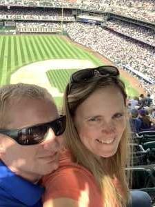 Mindy attended Colorado Rockies vs. San Diego Padres - MLB on Jun 16th 2019 via VetTix