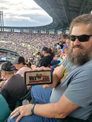 Charles attended Colorado Rockies vs. San Diego Padres - MLB on Jun 16th 2019 via VetTix