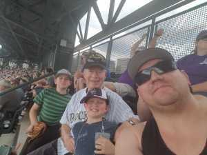 Robert attended Colorado Rockies vs. San Diego Padres - MLB on Jun 16th 2019 via VetTix
