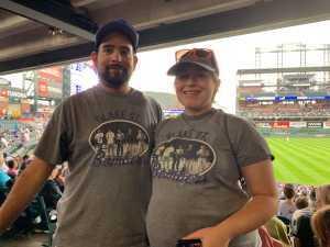Joseph attended Colorado Rockies vs. San Diego Padres - MLB on Jun 16th 2019 via VetTix