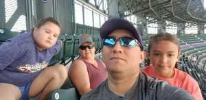 Fabricio attended Colorado Rockies vs. San Diego Padres - MLB on Jun 16th 2019 via VetTix