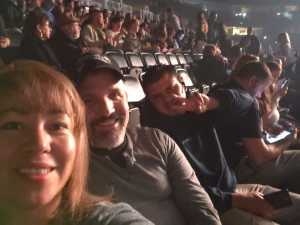 Christian attended Pentatonix - the World Tour With Special Guest Rachel Platten on May 19th 2019 via VetTix
