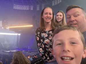 Brandon attended Pentatonix - the World Tour With Special Guest Rachel Platten on May 19th 2019 via VetTix