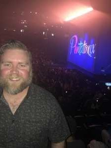 Michael attended Pentatonix - the World Tour With Special Guest Rachel Platten on May 19th 2019 via VetTix