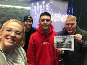 Randall attended Pentatonix - the World Tour With Special Guest Rachel Platten on May 19th 2019 via VetTix
